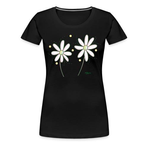 marguerites - T-shirt Premium Femme