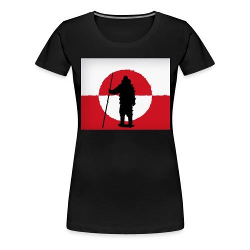 116068480 152187040 Kalaaleq Erfalasutalik - Dame premium T-shirt