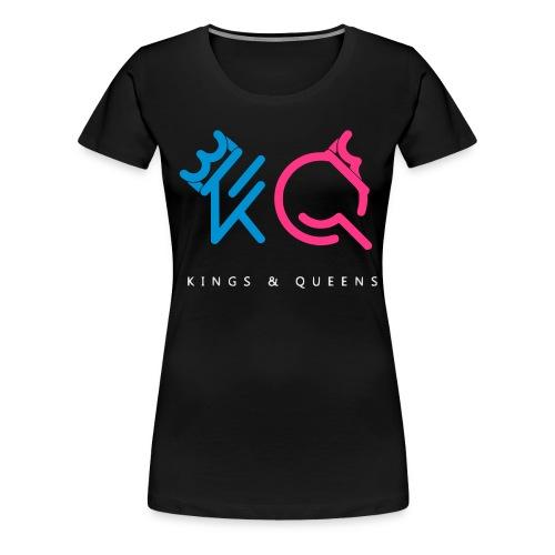 Kings & Queens - Vrouwen Premium T-shirt