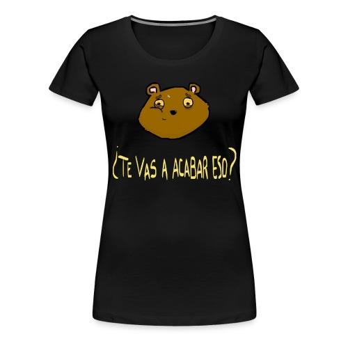 Ardilla glotona - Camiseta premium mujer