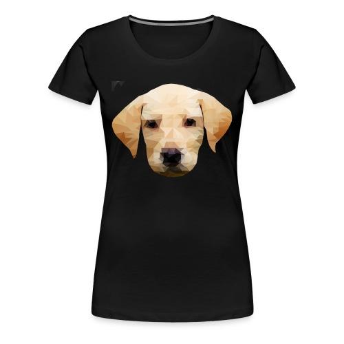 LowPolyDawg - Dame premium T-shirt