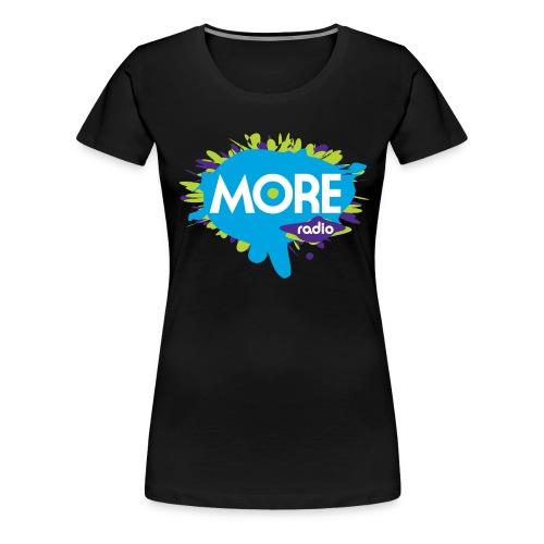 More Radio 2017 - Vrouwen Premium T-shirt