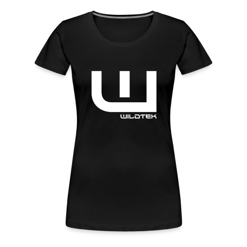 Wildtek Logo White - Women's Premium T-Shirt