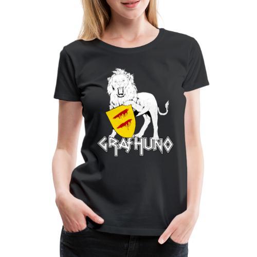 Ostfriesland Häuptlinge Graf Huno von Rastede - Frauen Premium T-Shirt