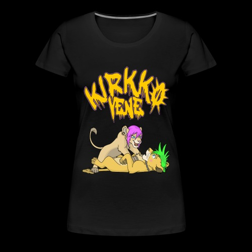 Nala ja Simba - Naisten premium t-paita
