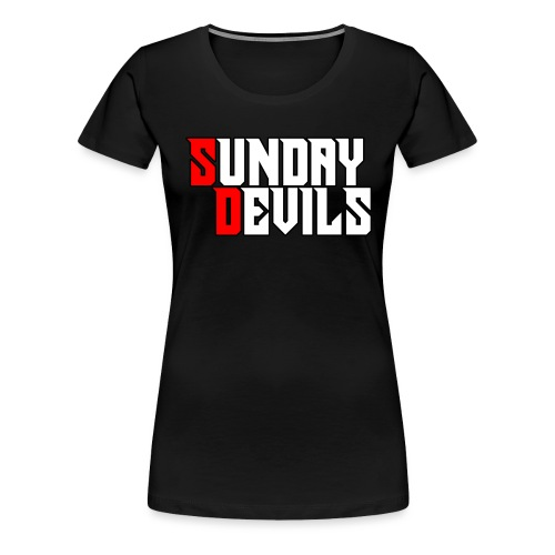 SundayDevils - Vrouwen Premium T-shirt