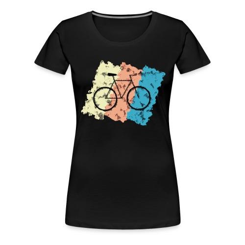 Fahrrad Style - Frauen Premium T-Shirt