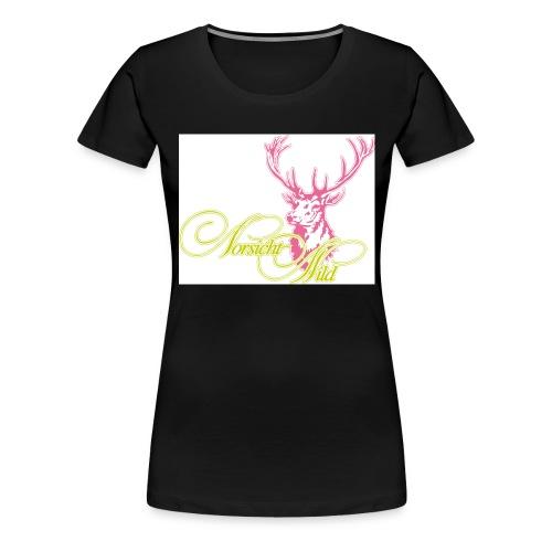 stag Vorsicht Wild - Frauen Premium T-Shirt