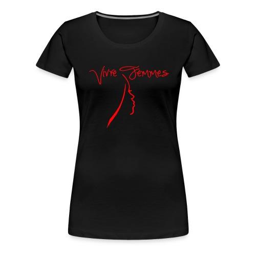 Vivre Femmes - T-shirt Premium Femme