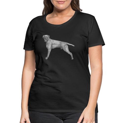 boxer - ink - Dame premium T-shirt