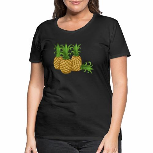 Ananas - Frauen Premium T-Shirt