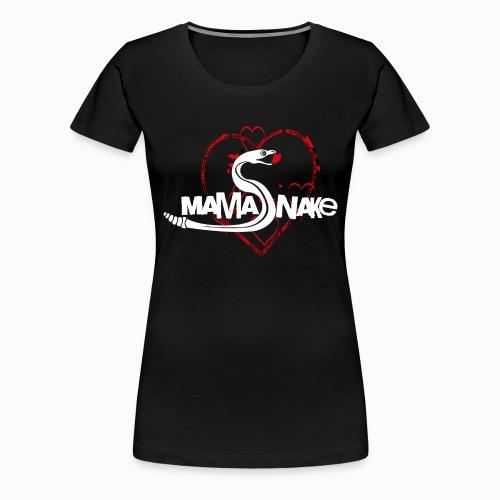 Mamasnake vorne - Sai hinten - Frauen Premium T-Shirt