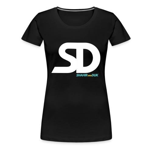 SD T-SHIRT NAVY - Vrouwen Premium T-shirt