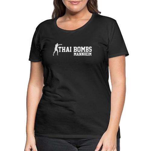 logoboxeurivertiertneu06012021 - Frauen Premium T-Shirt