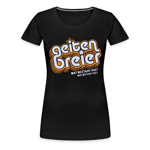 Geitenbreier - Vrouwen Premium T-shirt