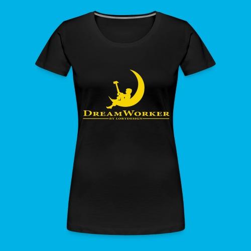 DreamWorker - Uomo - Maglietta Premium da donna