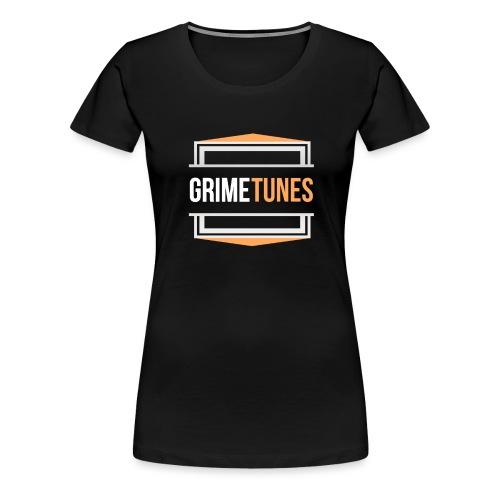 Grime Tunes T-Shirt Design - Women's Premium T-Shirt
