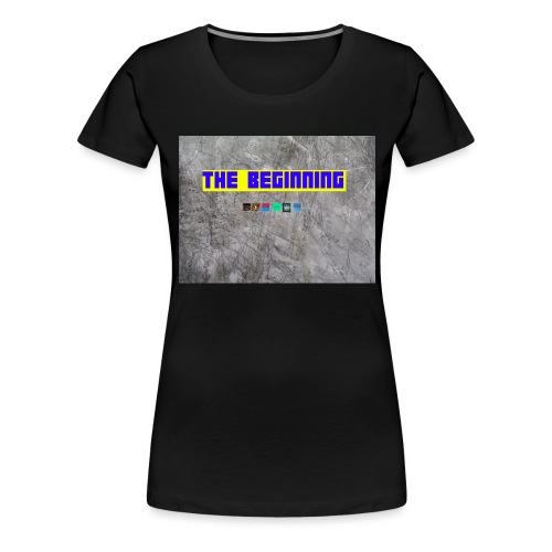 The Beginning - Women's Premium T-Shirt