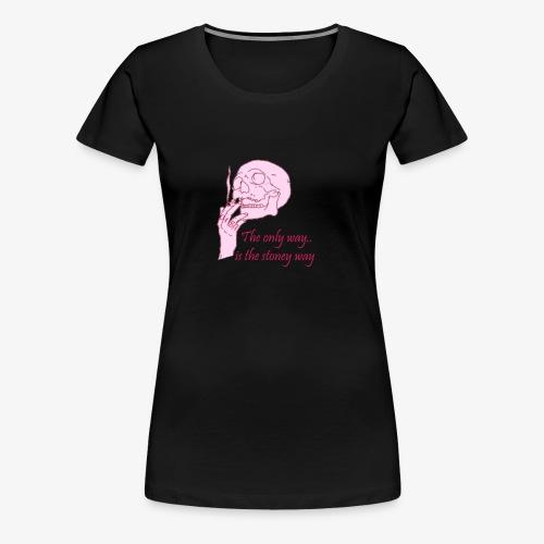 The Stoney Way - Vrouwen Premium T-shirt