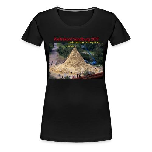 Weltrekord Sandburg 2017 - Frauen Premium T-Shirt
