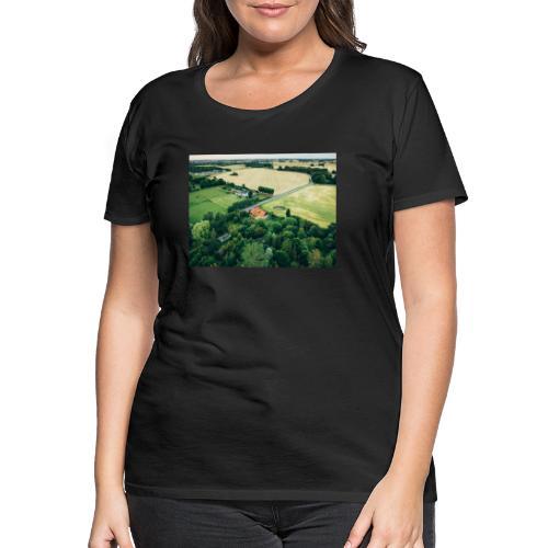 bg balloon - Dame premium T-shirt