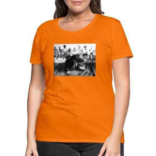 Sky Dog 2 - Frauen Premium T-Shirt