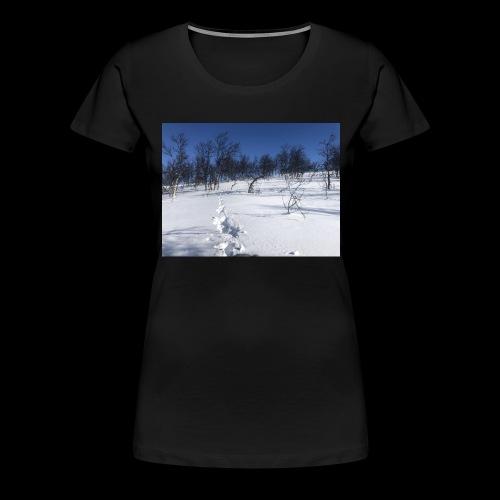 Fin natur - Premium T-skjorte for kvinner