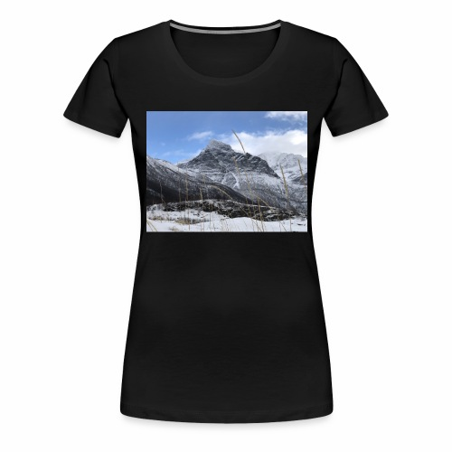 Vinter Brennviksanden - Premium T-skjorte for kvinner