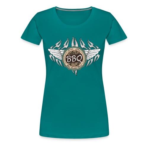 Grillmeister BBQ Chef - Frauen Premium T-Shirt