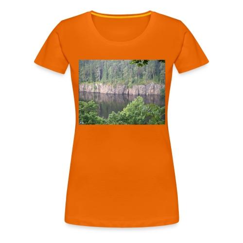 Laatokan maisemissa - Naisten premium t-paita