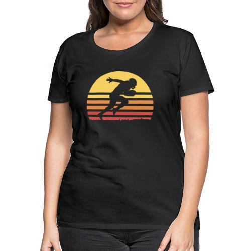 Football Sunset - Frauen Premium T-Shirt