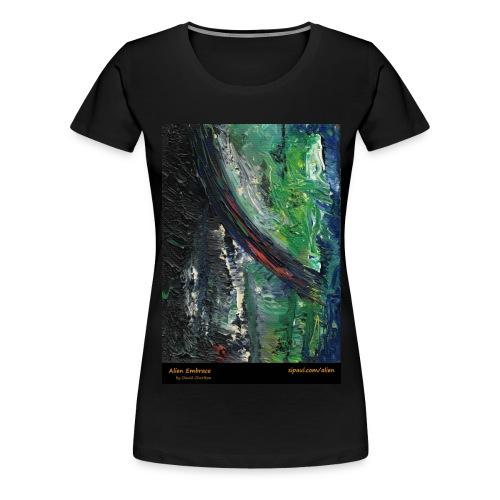 aliens-shirt-with-text - Women's Premium T-Shirt