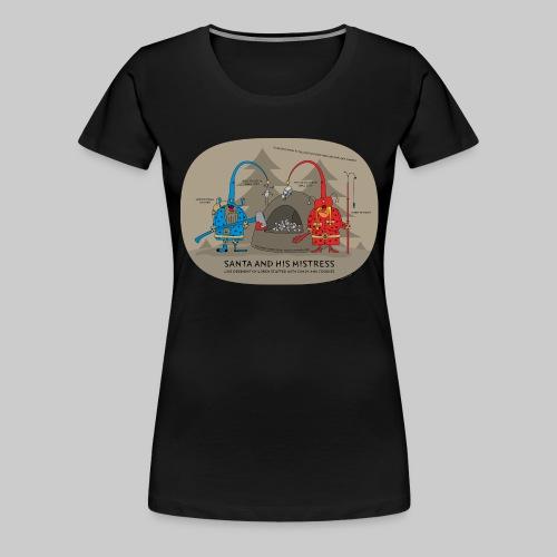 VJocys Santa Blue - Women's Premium T-Shirt