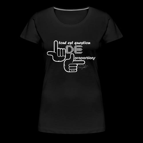 Pro portion by LPB - T-shirt Premium Femme