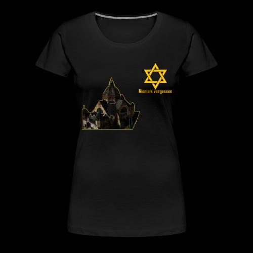Synagoge - Frauen Premium T-Shirt