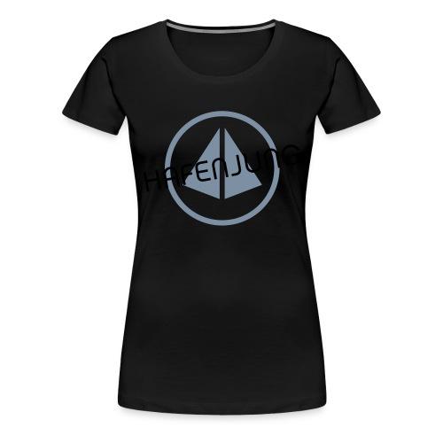 Hafenjung Stempel - Frauen Premium T-Shirt