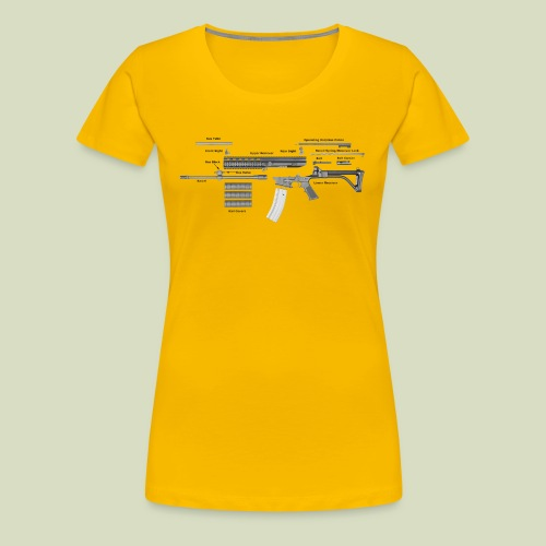 Robinson Armament XCR - Naisten premium t-paita