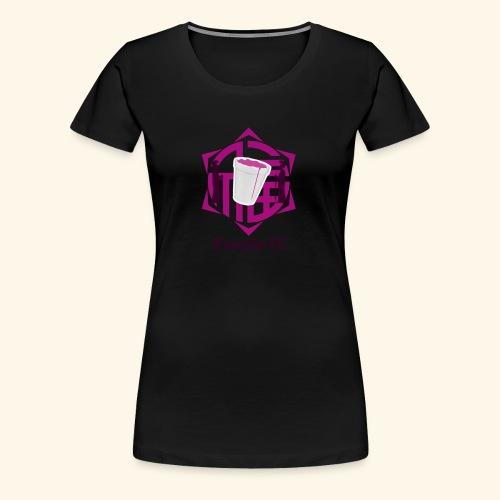 PURPLE FC - Camiseta premium mujer