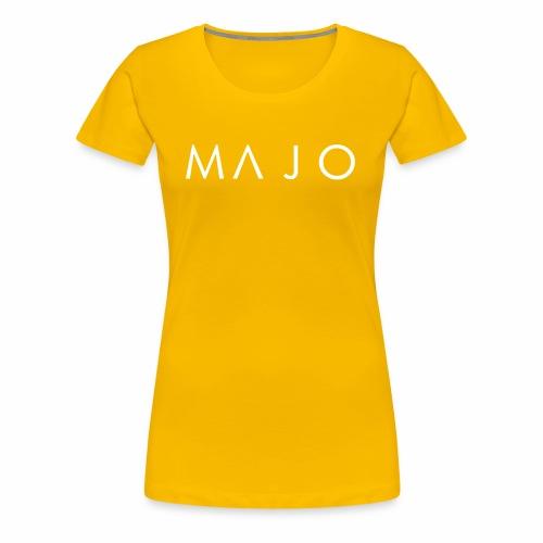 Official MAJO Logo - Premium-T-shirt dam