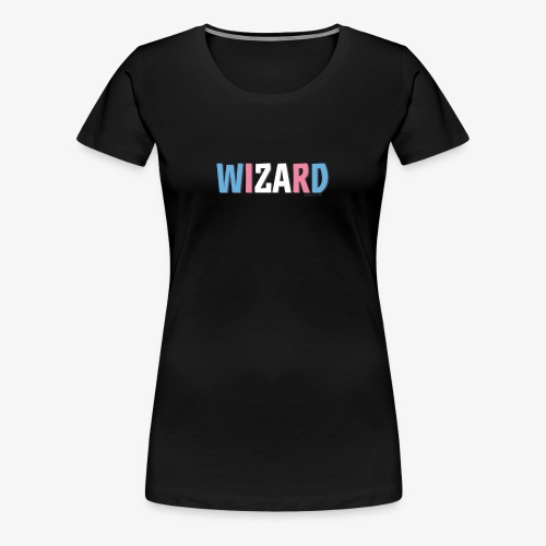 Pride (Trans) Wizard - Women's Premium T-Shirt