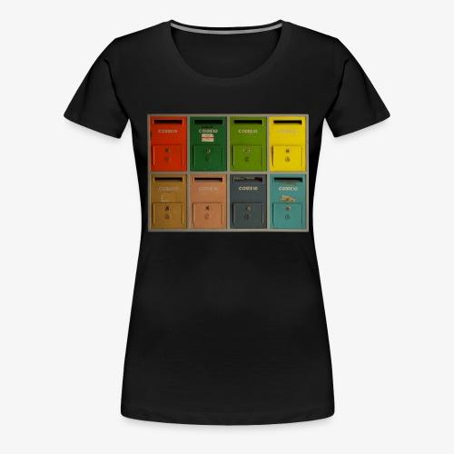 Briefkasten - Frauen Premium T-Shirt