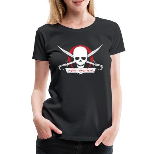 Pirates of Scarlet Moon - Maglietta Premium da donna