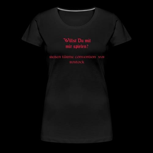 Siebentürme Convention XVII - Frauen Premium T-Shirt