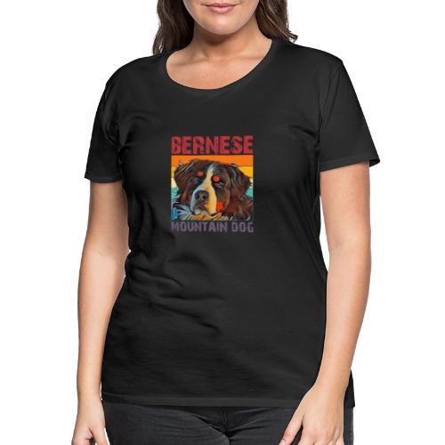 Bernese mountain dog - Vrouwen Premium T-shirt