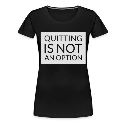 box_black_bkg_text_only - Premium-T-shirt dam