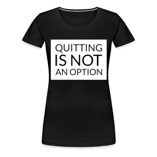 box_black_bkg_text_only - Women's Premium T-Shirt