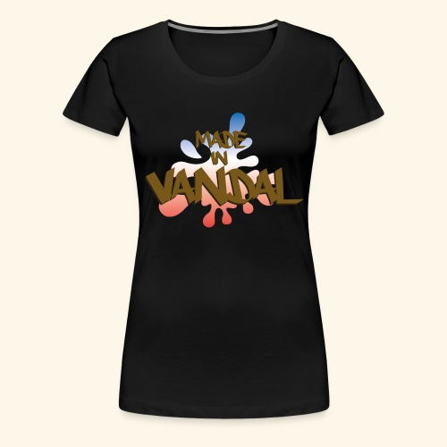 MADE IN VANDAL TAG - T-shirt Premium Femme