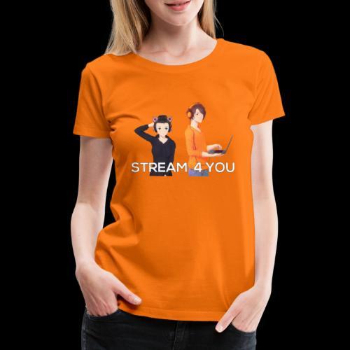Unsere Logo - Frauen Premium T-Shirt
