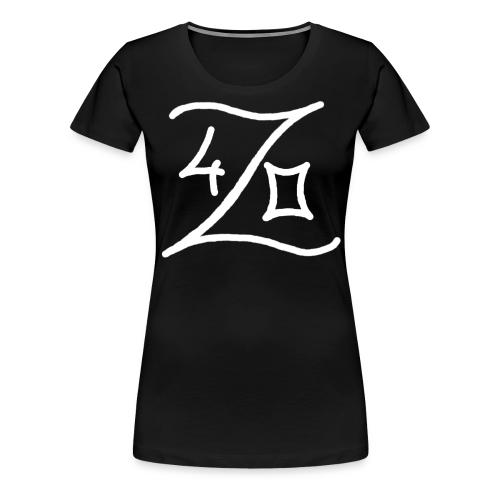 420 Logo Weiss - Frauen Premium T-Shirt