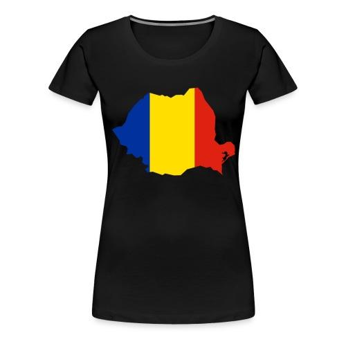 Romania - Vrouwen Premium T-shirt